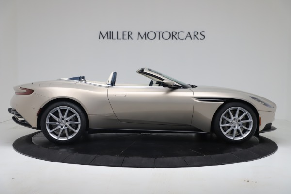 New 2020 Aston Martin DB11 Volante Convertible for sale $255,556 at Aston Martin of Greenwich in Greenwich CT 06830 12