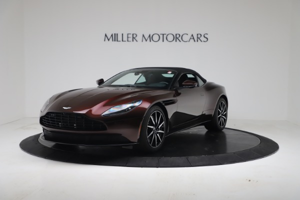 Used 2020 Aston Martin DB11 Volante Convertible for sale Call for price at Aston Martin of Greenwich in Greenwich CT 06830 4