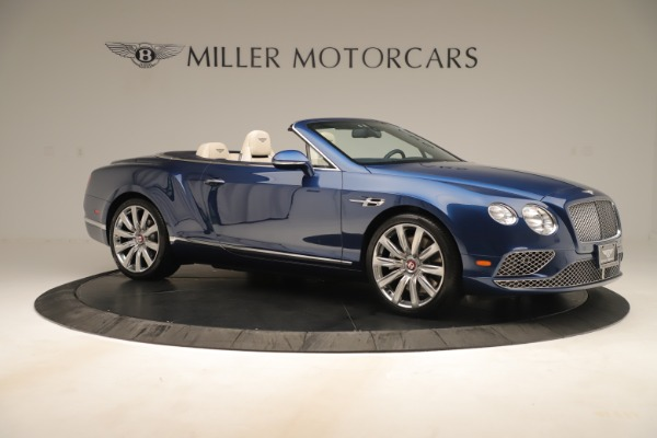Used 2017 Bentley Continental GTC V8 for sale $154,900 at Aston Martin of Greenwich in Greenwich CT 06830 10