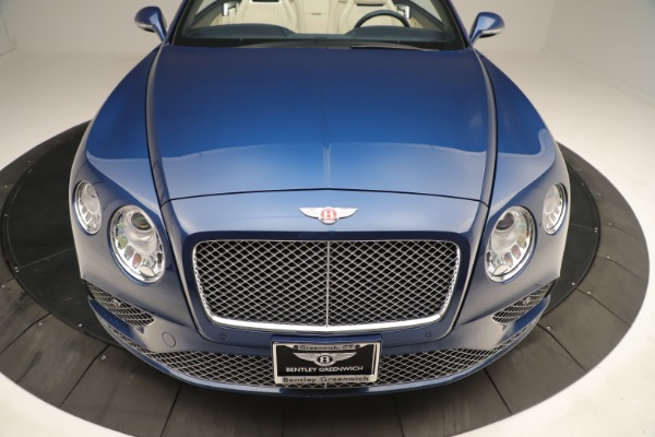 Used 2017 Bentley Continental GTC V8 for sale $154,900 at Aston Martin of Greenwich in Greenwich CT 06830 20