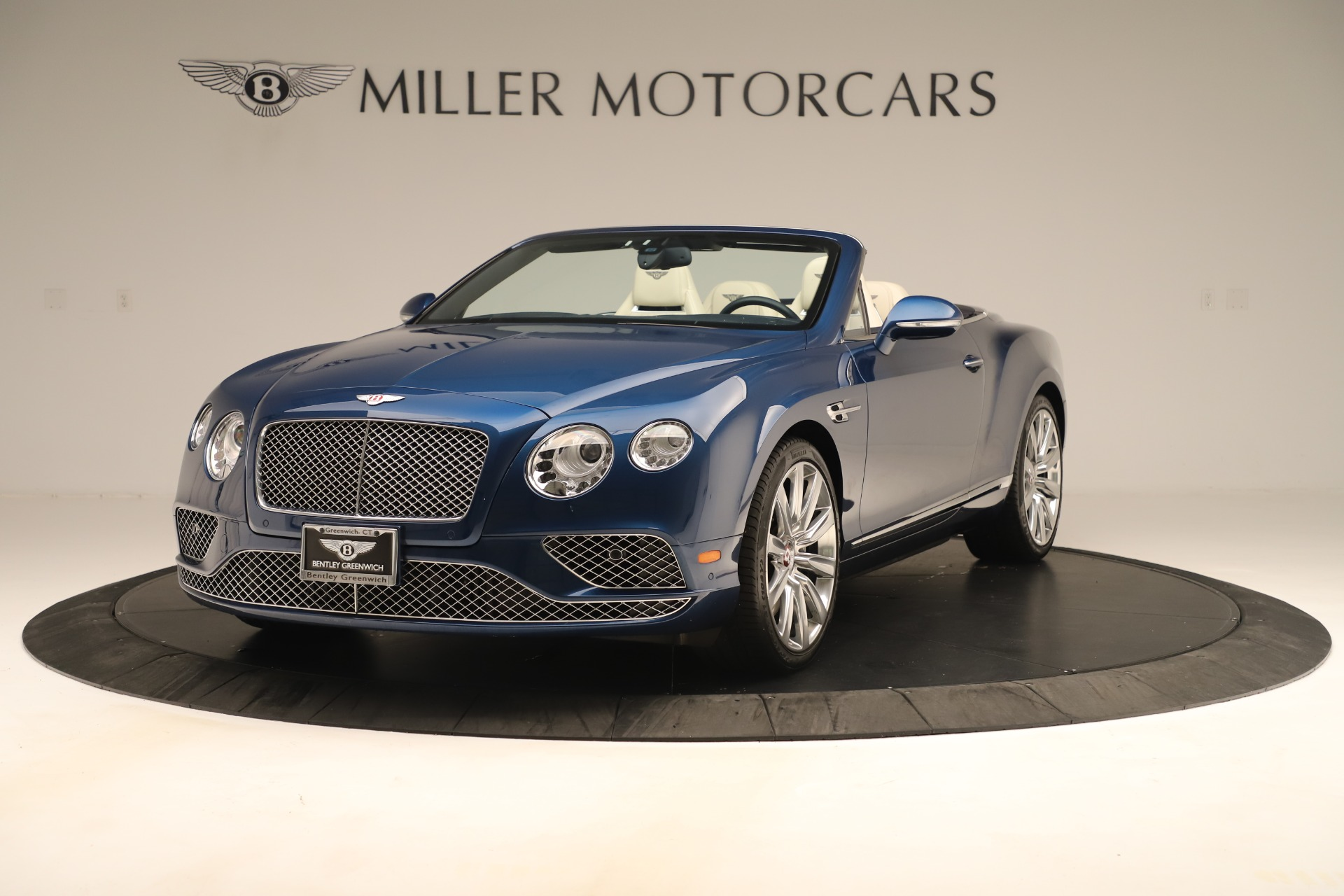 Used 2017 Bentley Continental GTC V8 for sale $154,900 at Aston Martin of Greenwich in Greenwich CT 06830 1
