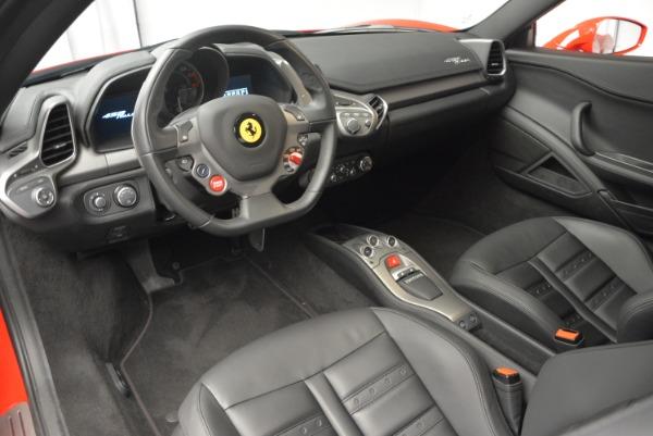 Used 2013 Ferrari 458 Italia for sale Sold at Aston Martin of Greenwich in Greenwich CT 06830 13
