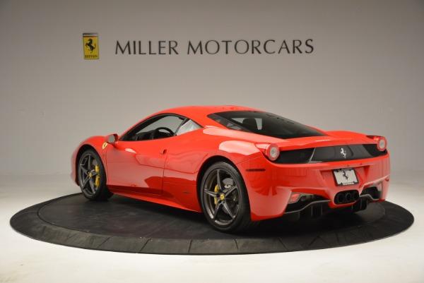 Used 2013 Ferrari 458 Italia for sale Sold at Aston Martin of Greenwich in Greenwich CT 06830 5