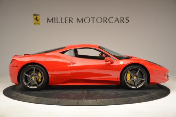 Used 2013 Ferrari 458 Italia for sale Sold at Aston Martin of Greenwich in Greenwich CT 06830 9