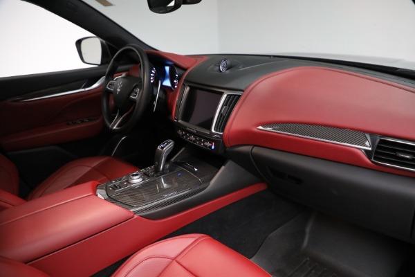 Used 2019 Maserati Levante Q4 GranSport for sale $69,900 at Aston Martin of Greenwich in Greenwich CT 06830 21