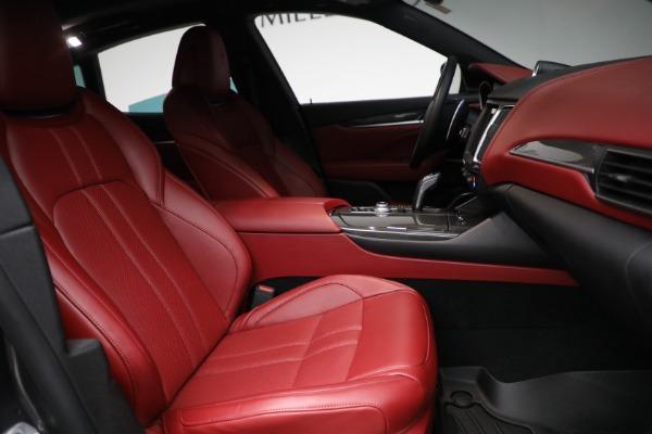 Used 2019 Maserati Levante Q4 GranSport for sale $69,900 at Aston Martin of Greenwich in Greenwich CT 06830 22