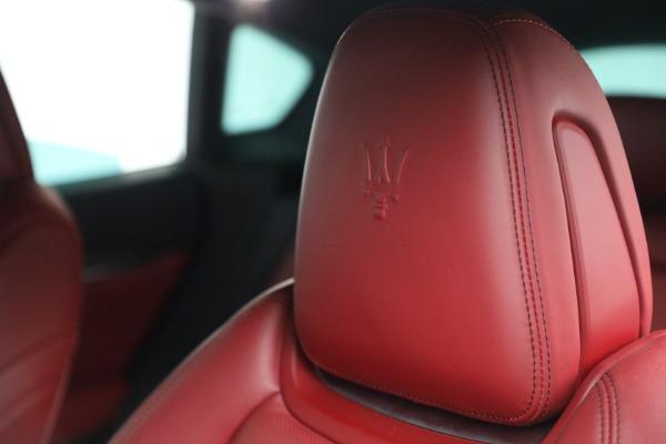 Used 2019 Maserati Levante Q4 GranSport for sale $69,900 at Aston Martin of Greenwich in Greenwich CT 06830 28