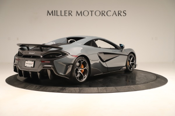 Used 2020 McLaren 600LT Spider for sale Sold at Aston Martin of Greenwich in Greenwich CT 06830 18