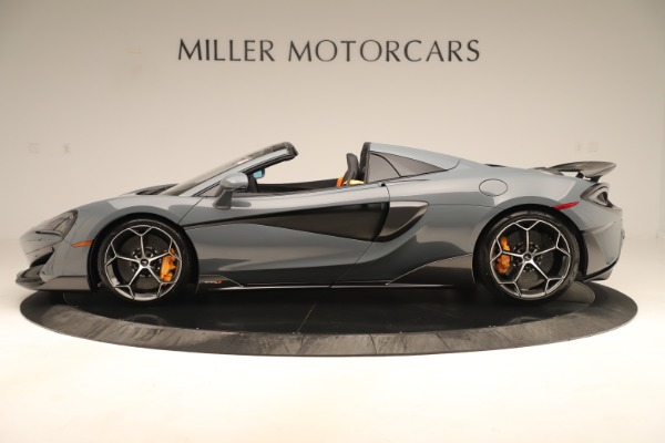 Used 2020 McLaren 600LT Spider for sale Sold at Aston Martin of Greenwich in Greenwich CT 06830 2