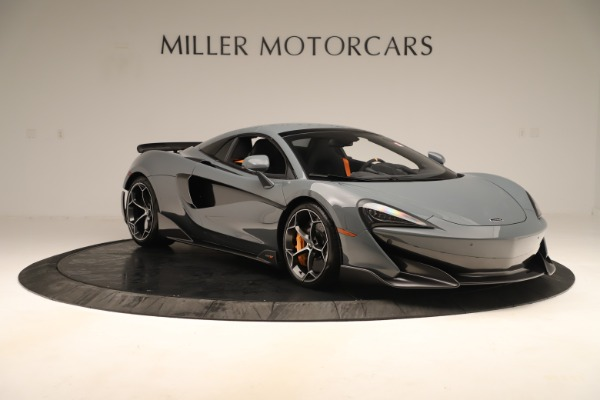 Used 2020 McLaren 600LT Spider for sale Sold at Aston Martin of Greenwich in Greenwich CT 06830 20