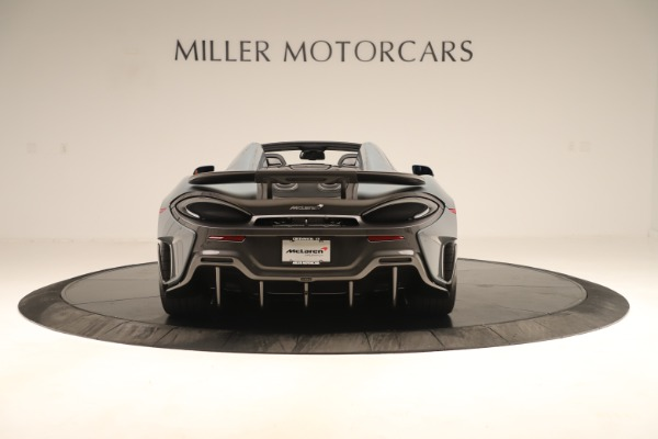 Used 2020 McLaren 600LT Spider for sale Sold at Aston Martin of Greenwich in Greenwich CT 06830 5