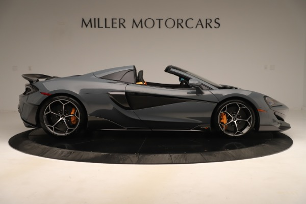 Used 2020 McLaren 600LT Spider for sale Sold at Aston Martin of Greenwich in Greenwich CT 06830 8