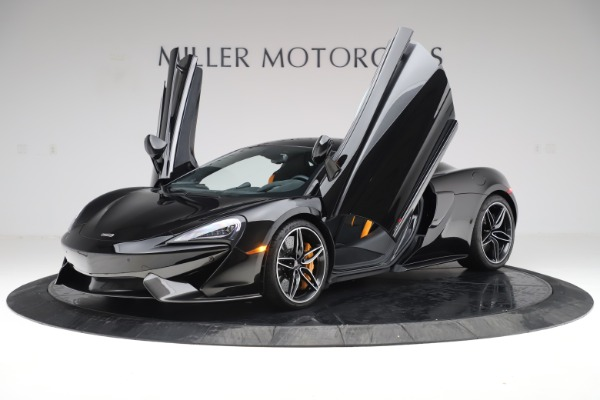 Used 2017 McLaren 570S Coupe for sale $161,900 at Aston Martin of Greenwich in Greenwich CT 06830 13