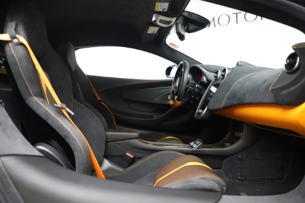 Used 2017 McLaren 570S Coupe for sale $161,900 at Aston Martin of Greenwich in Greenwich CT 06830 20