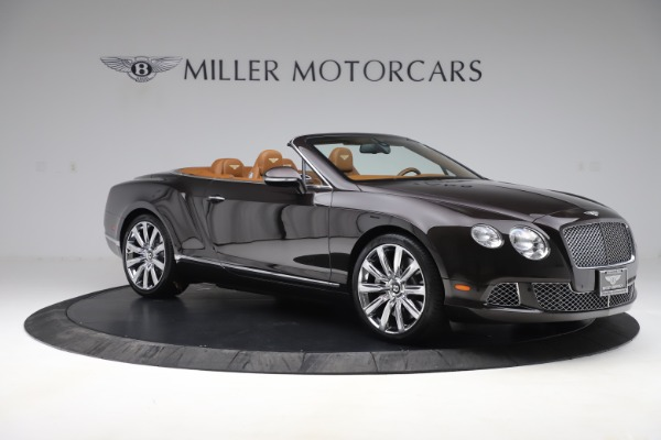 Used 2013 Bentley Continental GT W12 for sale Sold at Aston Martin of Greenwich in Greenwich CT 06830 10