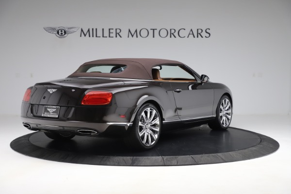Used 2013 Bentley Continental GT W12 for sale Sold at Aston Martin of Greenwich in Greenwich CT 06830 16