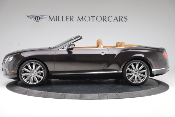 Used 2013 Bentley Continental GT W12 for sale Sold at Aston Martin of Greenwich in Greenwich CT 06830 3