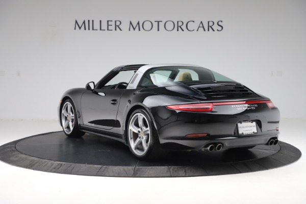 Used 2016 Porsche 911 Targa 4S for sale Sold at Aston Martin of Greenwich in Greenwich CT 06830 5