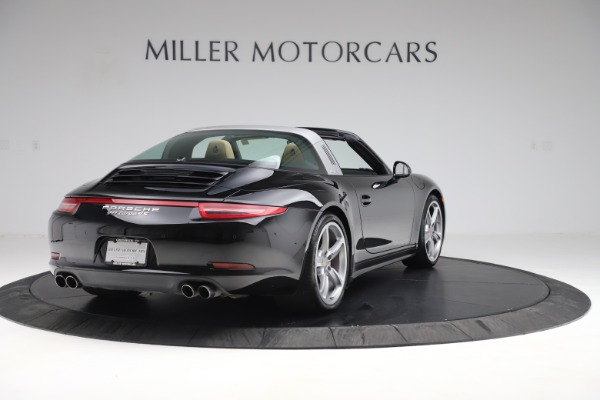 Used 2016 Porsche 911 Targa 4S for sale Sold at Aston Martin of Greenwich in Greenwich CT 06830 7