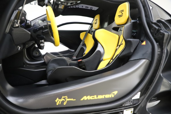Used 2019 McLaren Senna for sale Sold at Aston Martin of Greenwich in Greenwich CT 06830 16