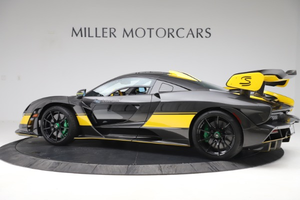 Used 2019 McLaren Senna for sale Sold at Aston Martin of Greenwich in Greenwich CT 06830 3
