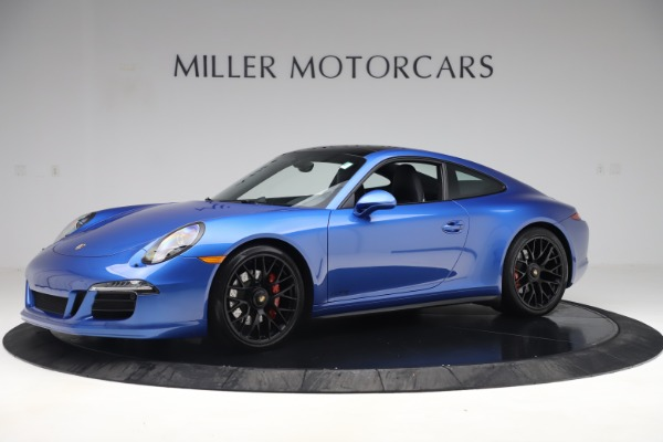 Used 2015 Porsche 911 Carrera GTS for sale Sold at Aston Martin of Greenwich in Greenwich CT 06830 3