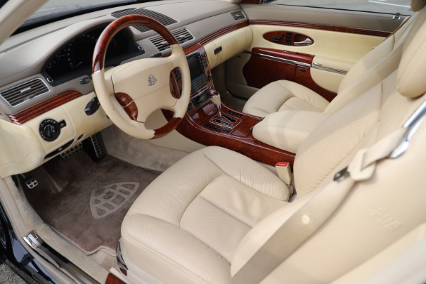 Used 2009 Maybach 62 for sale Sold at Aston Martin of Greenwich in Greenwich CT 06830 13