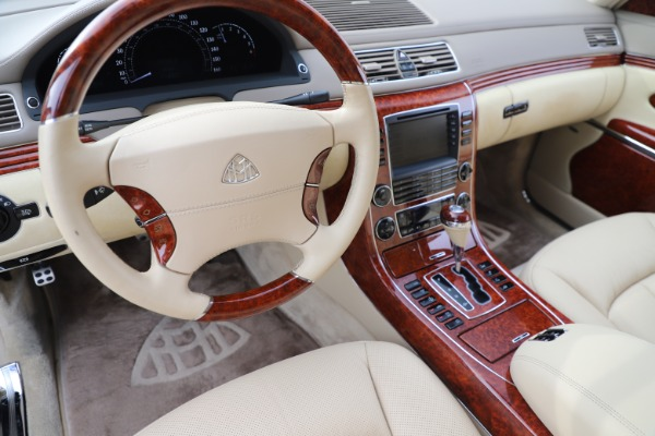 Used 2009 Maybach 62 for sale Sold at Aston Martin of Greenwich in Greenwich CT 06830 16