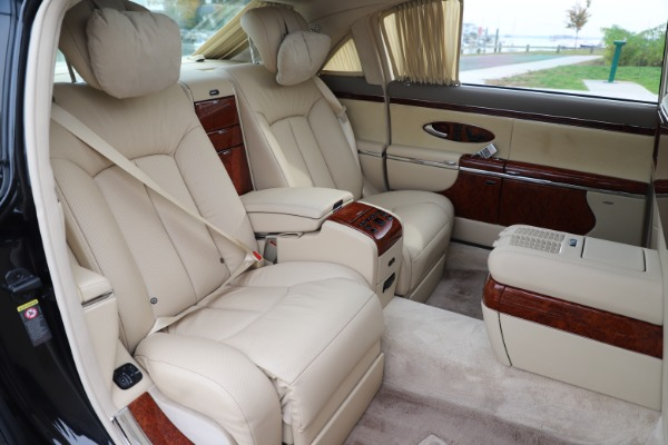 Used 2009 Maybach 62 for sale Sold at Aston Martin of Greenwich in Greenwich CT 06830 24