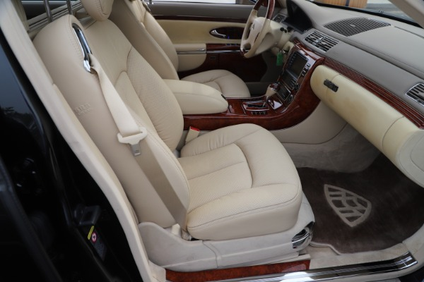 Used 2009 Maybach 62 for sale Sold at Aston Martin of Greenwich in Greenwich CT 06830 25