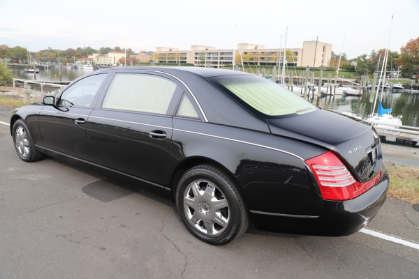 Used 2009 Maybach 62 for sale Sold at Aston Martin of Greenwich in Greenwich CT 06830 4