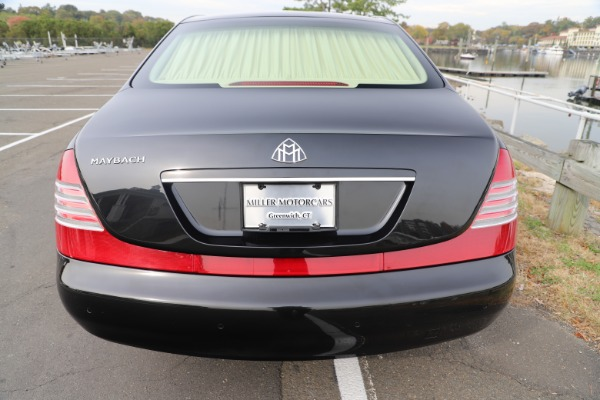 Used 2009 Maybach 62 for sale Sold at Aston Martin of Greenwich in Greenwich CT 06830 5
