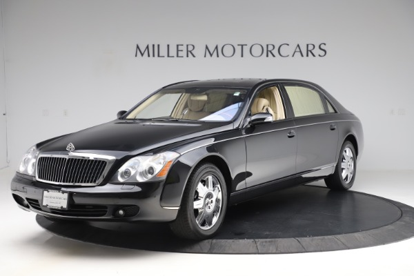 Used 2009 Maybach 62 for sale Sold at Aston Martin of Greenwich in Greenwich CT 06830 1