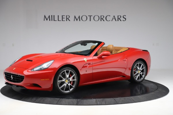 Used 2013 Ferrari California 30 for sale Sold at Aston Martin of Greenwich in Greenwich CT 06830 2