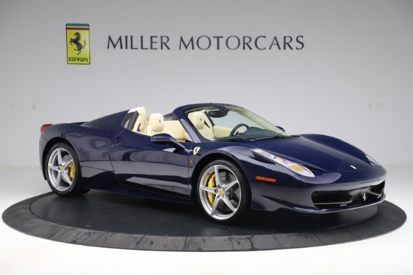 Used 2013 Ferrari 458 Spider for sale Sold at Aston Martin of Greenwich in Greenwich CT 06830 10