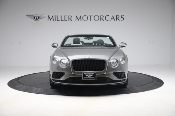 Used 2016 Bentley Continental GTC V8 S for sale $139,900 at Aston Martin of Greenwich in Greenwich CT 06830 12