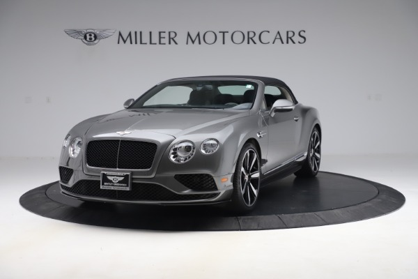 Used 2016 Bentley Continental GTC V8 S for sale $139,900 at Aston Martin of Greenwich in Greenwich CT 06830 13