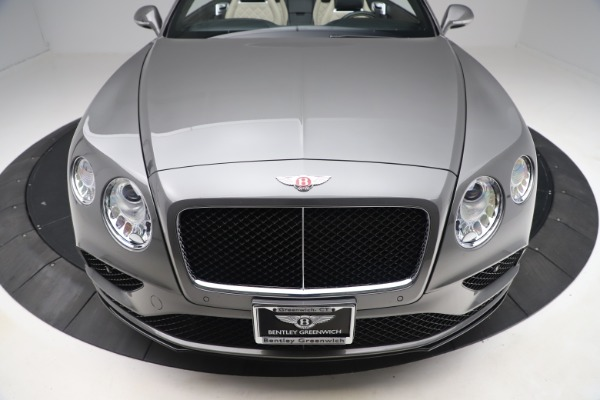 Used 2016 Bentley Continental GTC V8 S for sale $139,900 at Aston Martin of Greenwich in Greenwich CT 06830 19