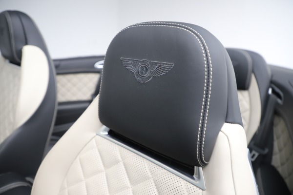 Used 2016 Bentley Continental GTC V8 S for sale $139,900 at Aston Martin of Greenwich in Greenwich CT 06830 26
