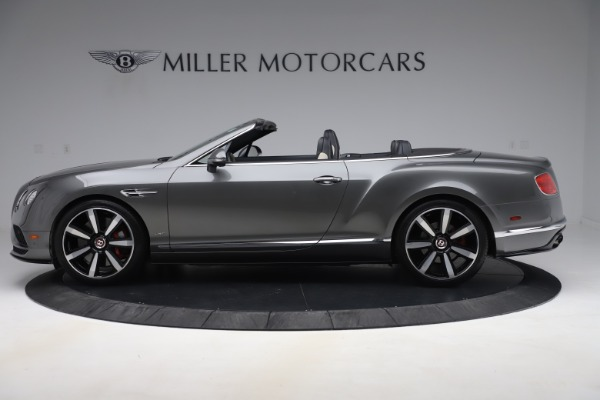 Used 2016 Bentley Continental GTC V8 S for sale $139,900 at Aston Martin of Greenwich in Greenwich CT 06830 3