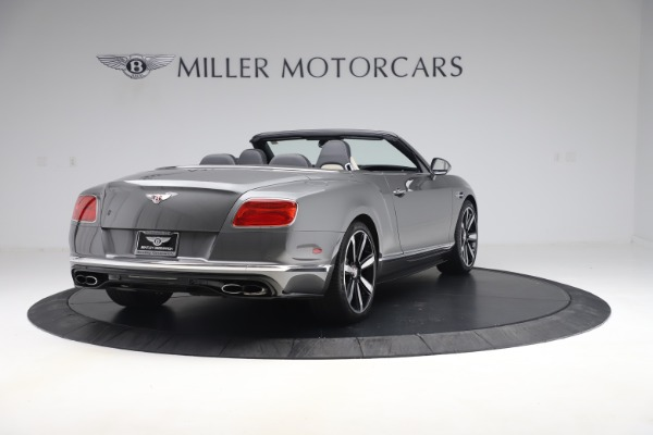 Used 2016 Bentley Continental GTC V8 S for sale $139,900 at Aston Martin of Greenwich in Greenwich CT 06830 7