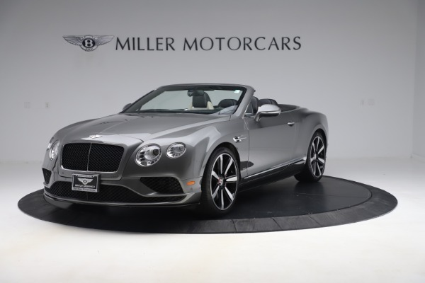 Used 2016 Bentley Continental GTC V8 S for sale $139,900 at Aston Martin of Greenwich in Greenwich CT 06830 1