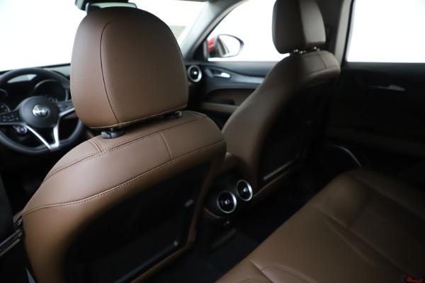 New 2019 Alfa Romeo Stelvio Q4 for sale Sold at Aston Martin of Greenwich in Greenwich CT 06830 20