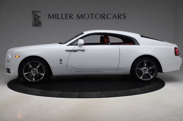 New 2020 Rolls-Royce Wraith for sale $392,325 at Aston Martin of Greenwich in Greenwich CT 06830 3