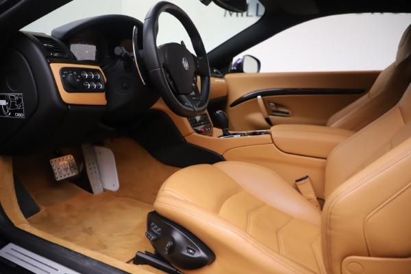 Used 2016 Maserati GranTurismo Sport for sale Sold at Aston Martin of Greenwich in Greenwich CT 06830 14