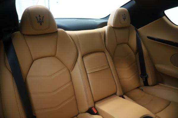 Used 2016 Maserati GranTurismo Sport for sale Sold at Aston Martin of Greenwich in Greenwich CT 06830 23
