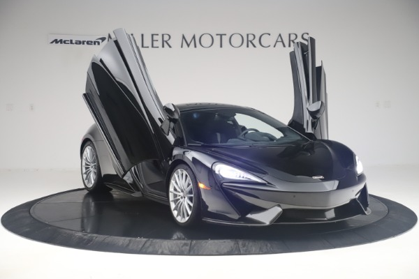 Used 2017 McLaren 570GT Coupe for sale $149,900 at Aston Martin of Greenwich in Greenwich CT 06830 11