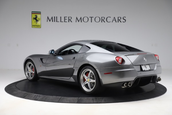 Used 2010 Ferrari 599 GTB Fiorano HGTE for sale Sold at Aston Martin of Greenwich in Greenwich CT 06830 4