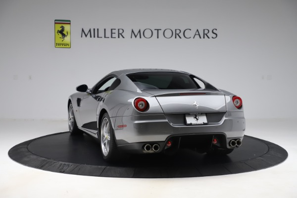Used 2010 Ferrari 599 GTB Fiorano HGTE for sale Sold at Aston Martin of Greenwich in Greenwich CT 06830 5