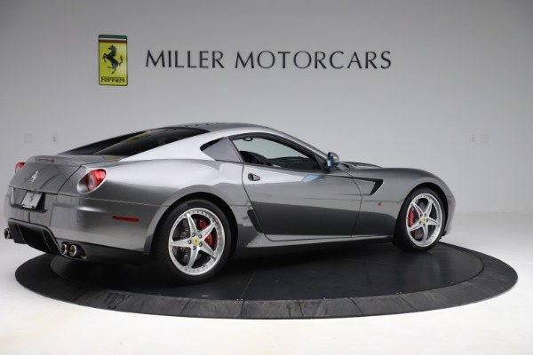 Used 2010 Ferrari 599 GTB Fiorano HGTE for sale Sold at Aston Martin of Greenwich in Greenwich CT 06830 8